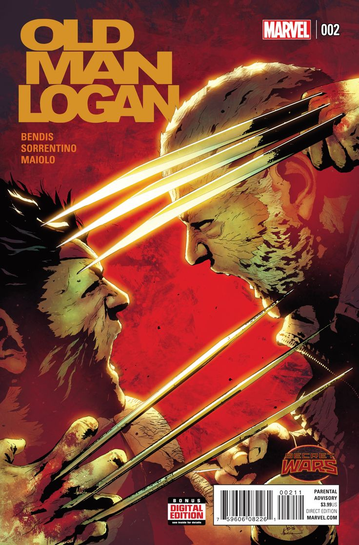 Old Man Logan #2, By Brian Michael Bendis, Andrea Sorrentino and Marcel Maiolo Last month we were treated to the first issue of Old Man Logan, and it rocked. Having ..., #AndreaSorrentino #BrianMichaelBendis #JeremyMatcho #marcelmaiolo #Marvel #OLDMANLOGAN #SecretWars #Wolverine