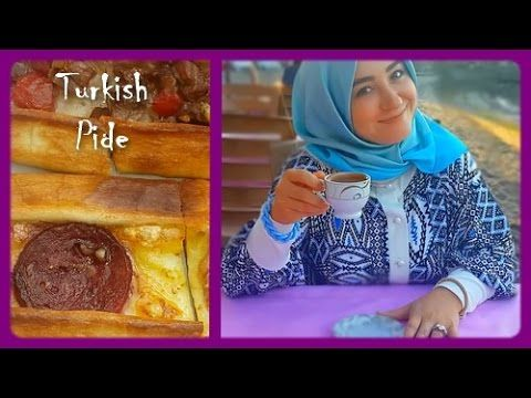 VLOG 1 - Going out for lunch - Turkish pide - Seasight and vawes #MissHi...
