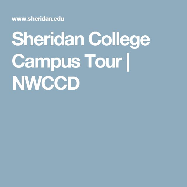 Sheridan College Campus Tour | NWCCD