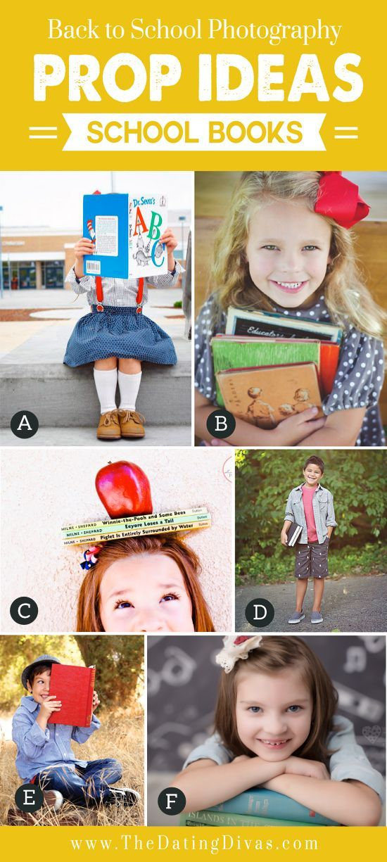 Books for Back to School Props