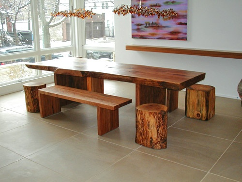 61 Best Images About Log Furniture Ideas On Pinterest