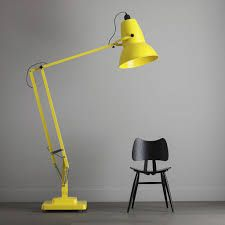 yellow floor lamp - Google Search