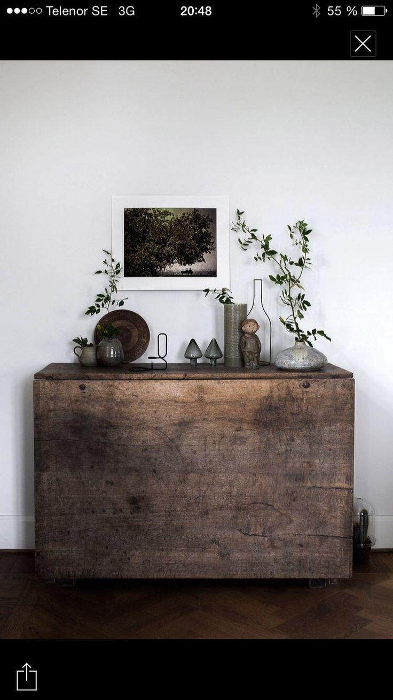 Slagbord som sideboard