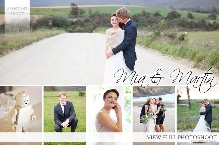 Mia and Martin Wedding - Adele van Zyl Photography