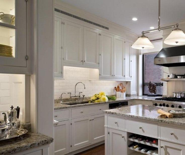 White Kitchen Cabinets Granite Countertops: Best 25+ Grey Granite Countertops Ideas On Pinterest