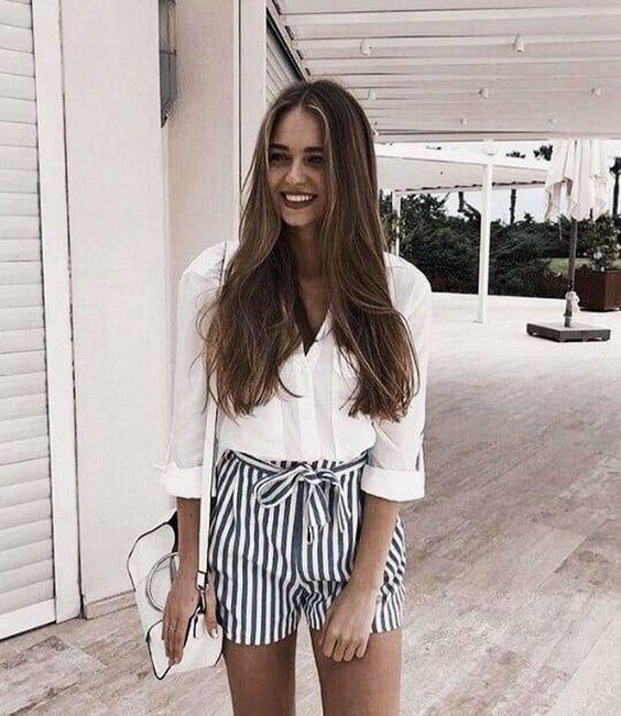 48 trendige Outfit-Ideen für den Sommer zum Nachm…