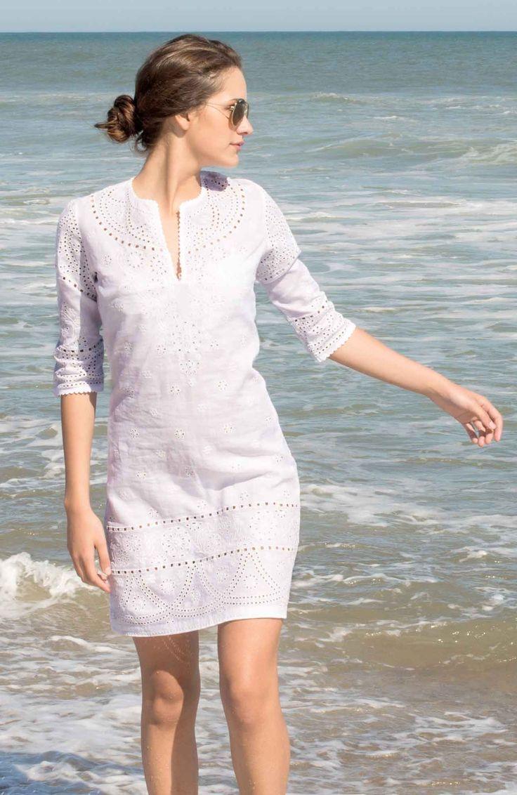 Gretchen Scott: The Shifley Eyelet Tunic Dress