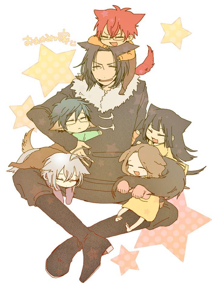 la famille des loups x3