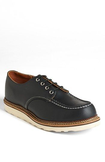 Red Wing Moc Toe Derby available at #Nordstrom