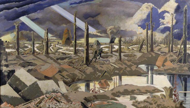 Paul Nash Artist | The Menin Road, Paul Nash, 1919 IWM ART 2242