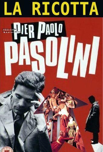 """""""La ricotta""""  Pier Paolo Pasolini. Cast: Orson Welles, Mario Cipriani, Laura Betti, Edmonda Aldini, Ettore Garofolo"""