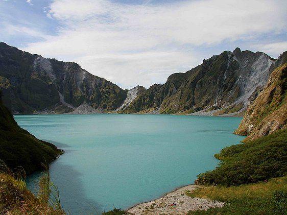 Caldera of Mount Pinatubo