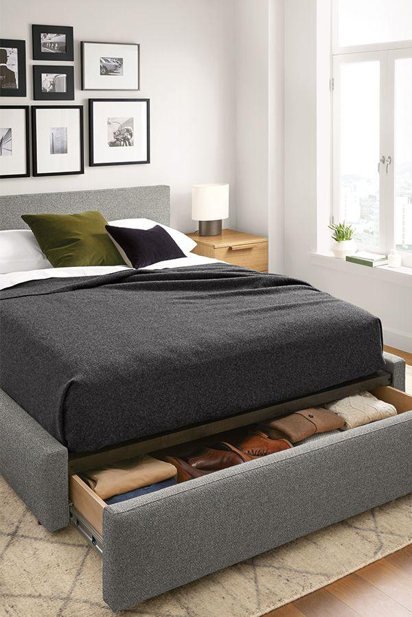 Wyatt Storage Bed Modern Contemporary Beds Modern Bedroom Furniture Room Board In 2021 Bed Design Modern Modern Storage Beds Modern Bedroom Furniture