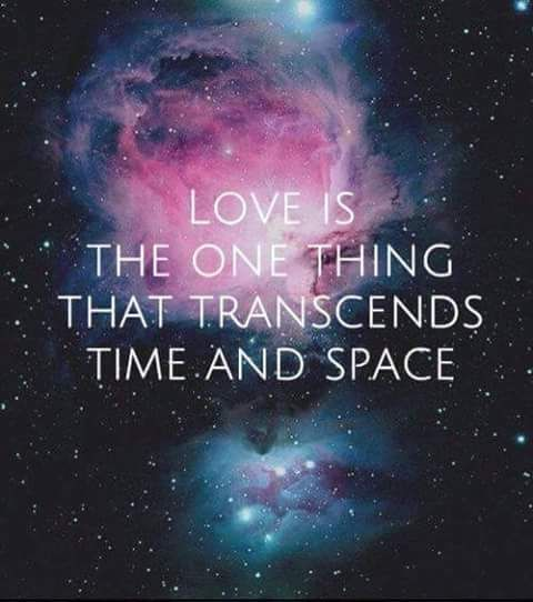 """Love Is Spacetime. Love Is That Fifth Dimension. Love Is"