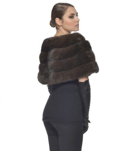 Russian Sable Fur Stole #fur #sable #classy #style #beautiful #russian #collar #stole #scarf #outfit #elegant #fashion #model