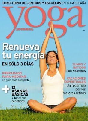 Revistas PDF En Español: Revista Yoga Journal España - Agosto 2015 - PDF HQ...