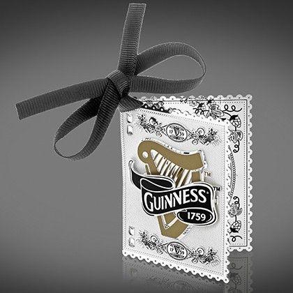 Guinness Newbridge Christmas Tree harp book decoration