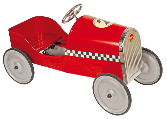 Racer cat for the small ones! Monaco tin car.