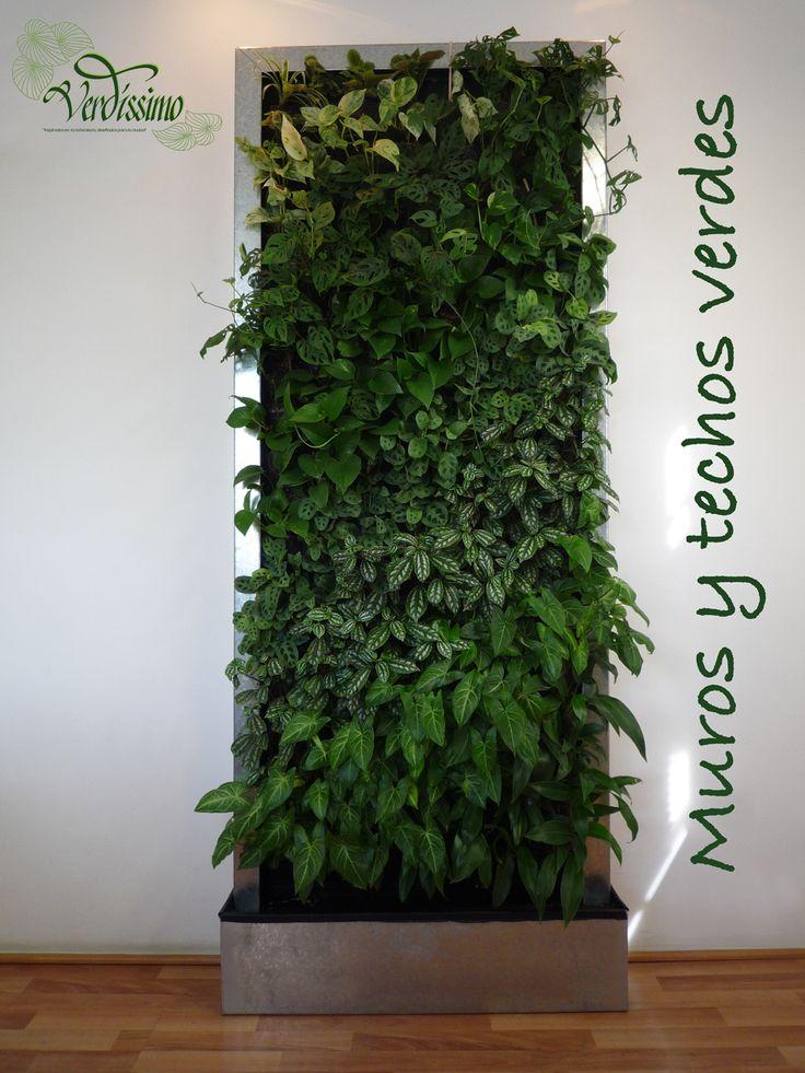 Los jardines verticales no son rejas con enredaderas son for Beneficios de los jardines verticales