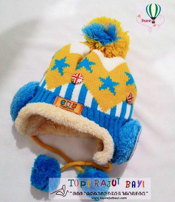 TOPI RAJUT ANAK BINTANG TRA19 merupakan topi anak yang dibuat dengan desain menarik menggunakan mesin dan bahan pilihan sehingga kualitas bagus dan ciamik  BBM 58281DC2  | 085215162216