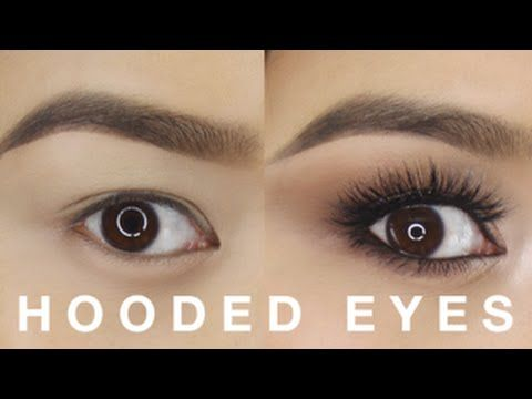 Hooded Eyes Makeup Tutorial - YouTube
