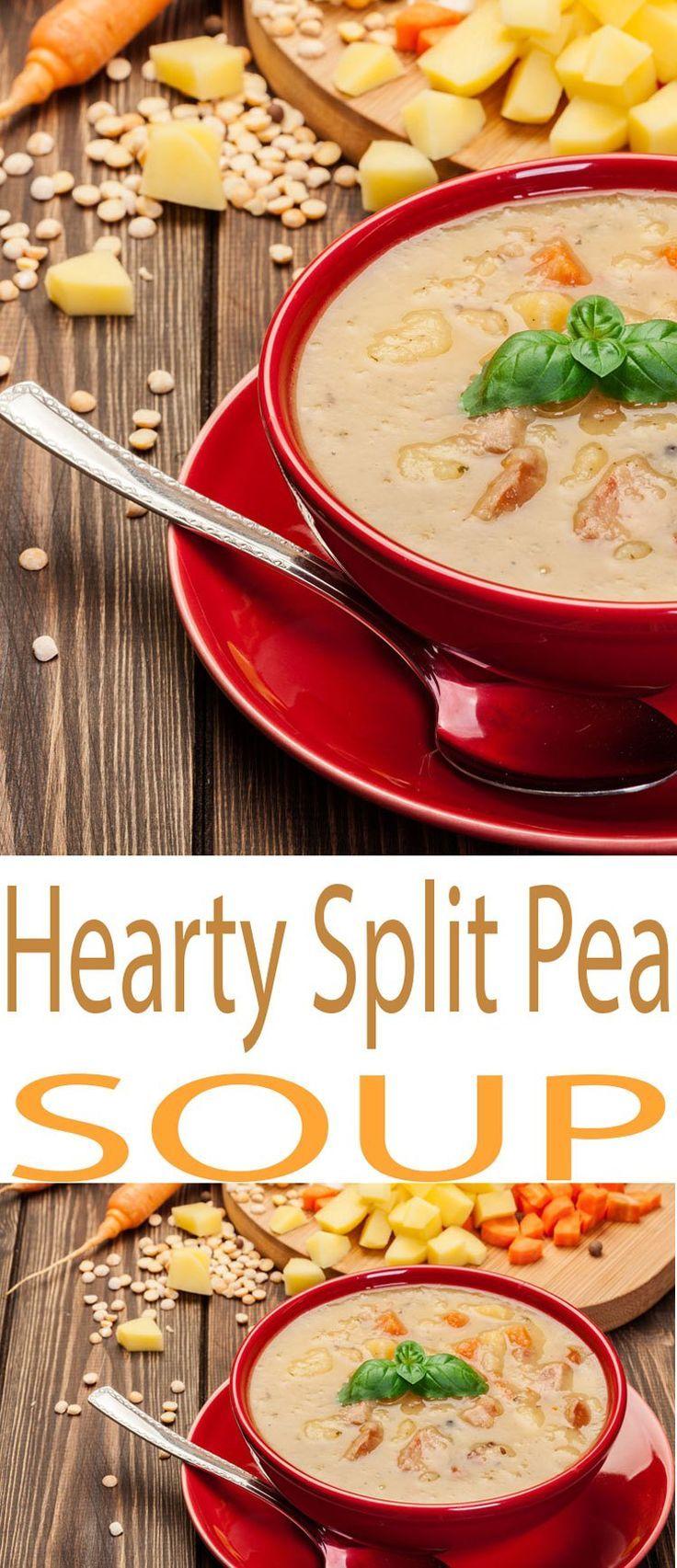 Split Pea Soup with Sausage – Slow Cooker Soup | Recipe | Slow ...
