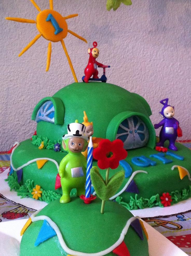 My Teletubbies cake!