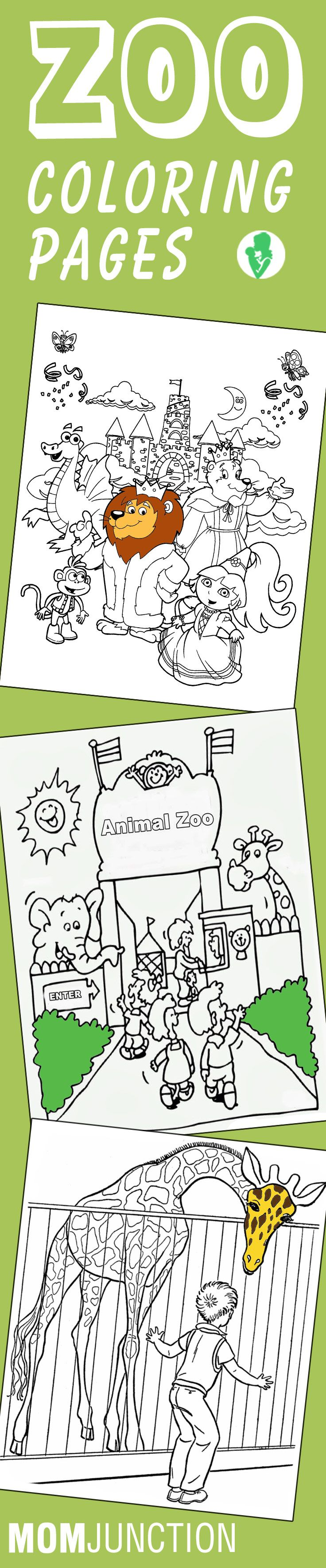 Printable zoo coloring book - Top 25 Free Printable Zoo Coloring Pages Online