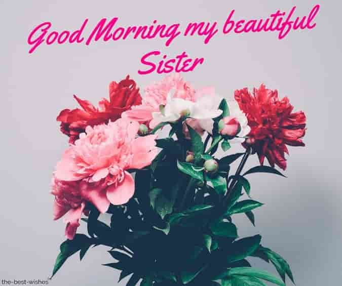 120 Lovely Good Morning Wishes And Greetings For Sister Good Morning Sister Images Good Morning Sister Quotes Good Morning Picture