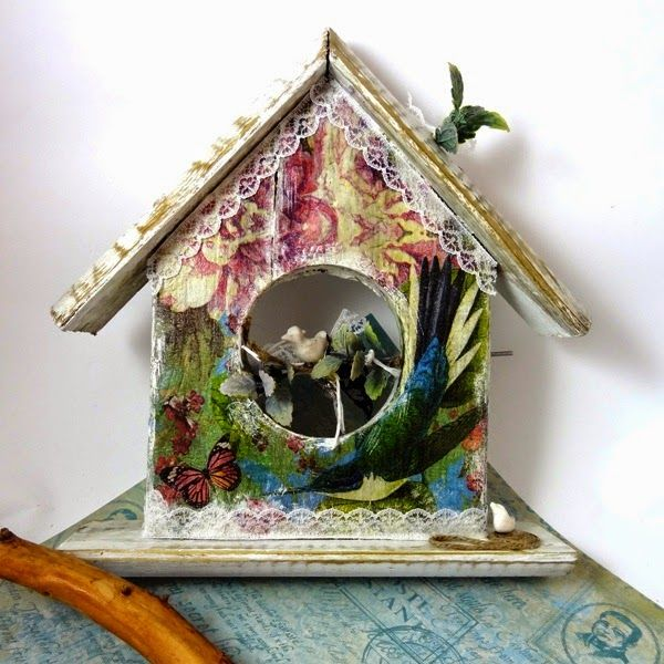 Biżuteria artystyczna... wnętrza, dodatki, scrapbooking...wciąż rośnie...Balsam Tree: Domek nr. kolejny Wieszak na ręczniki a może ozdob...