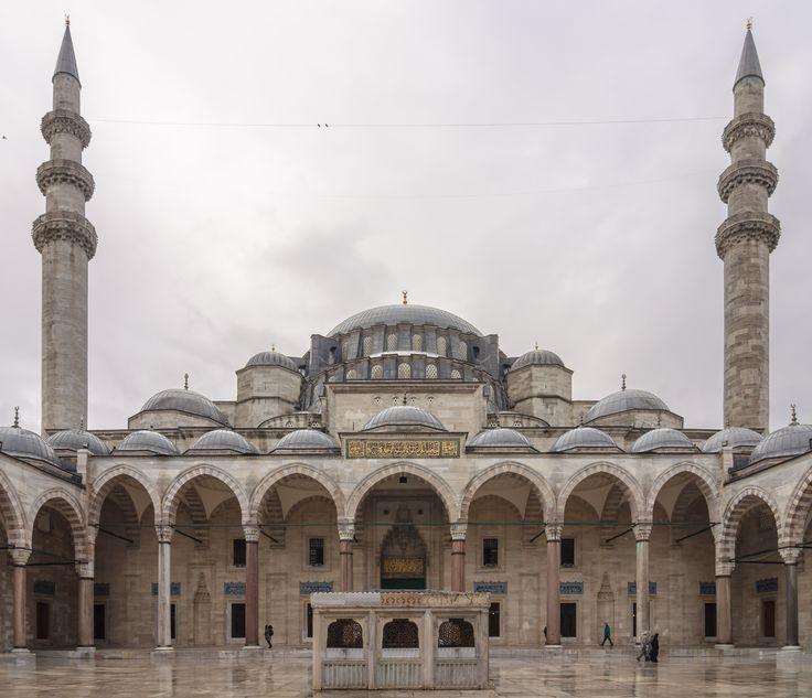 Süleymaniye Mosque (Turkish : Süleymaniye Camii) Istanbul From Wikipedia