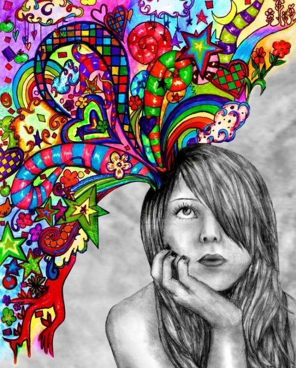 Self-Portrait Daydreams