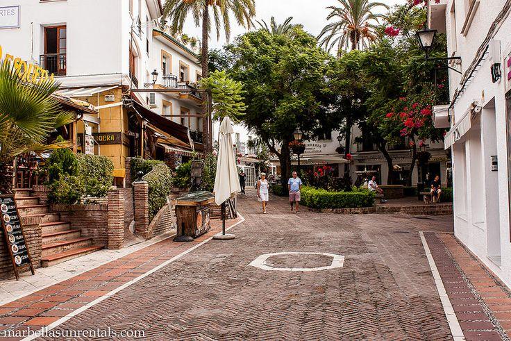 Plaza Victoria in Marbella Town