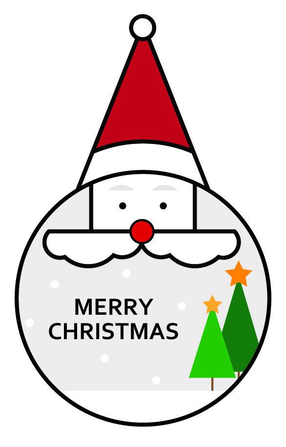 크리스마스 / 산타 / 트리 / 아이콘