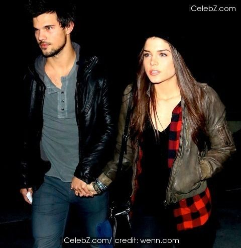 Taylor Lautner and Marie Avgeropoulos arriving for the Jay Z concert at Staple Center http://www.icelebz.com/events/taylor_lautner_and_marie_avgeropoulos_arriving_for_the_jay_z_concert_at_staple_center/photo5.html
