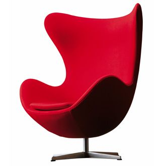 inspiratie...    Arne Jacobsen Egg chair