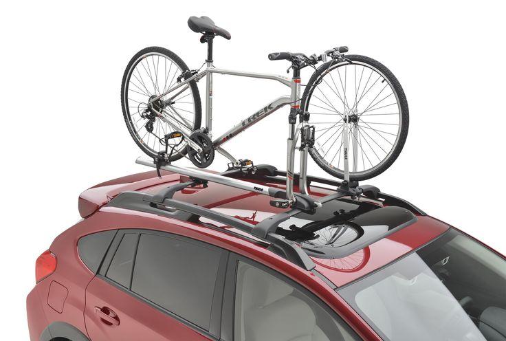 2017 Subaru Forester. #SOA567B010: Thule Bike Carrier – Universal Fork Mount