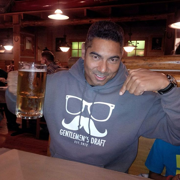 Happy Customer in his Charcoal Hoodie.  Check out Gentlemen's Draft Clothing at https://www.facebook.com/GentlemensDraft   $2 from each item sold is donated to prostate cancer research.  Join us in  helping to fight cancer, one shirt at a time.   Stay classy like never before with our signature moustache and glasses logo on our custom designed threads.   Also check us out on: Instagram - gentlemens_draft