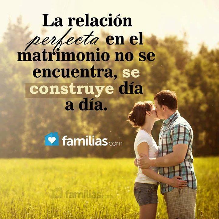 Matrimonios Catolicos Felices : La relacion perfecta en el matrimonio no se encuentra
