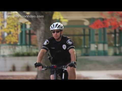 Police recruitment videos. Hard to know which is funnier-- touchy feely, multi-racial Georgia or hard-edged, paramilitary... Newport Beach.