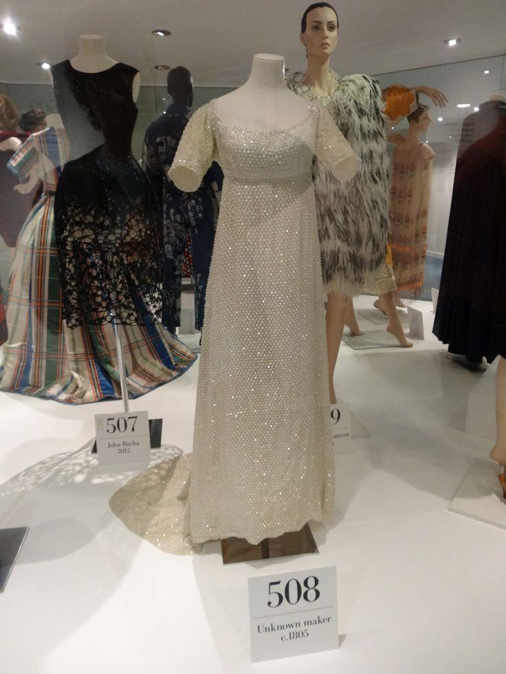 Dress c1805 - Museum of costume, Bath