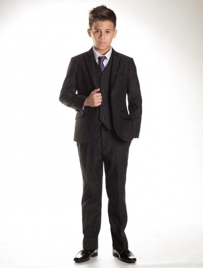 boys black suit boys prom suits page boy suits wade roco