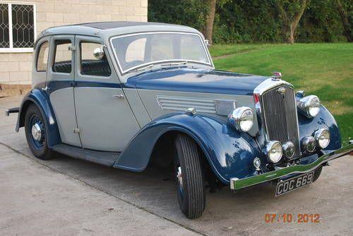 1936 Wolseley 14/56 Saloon.