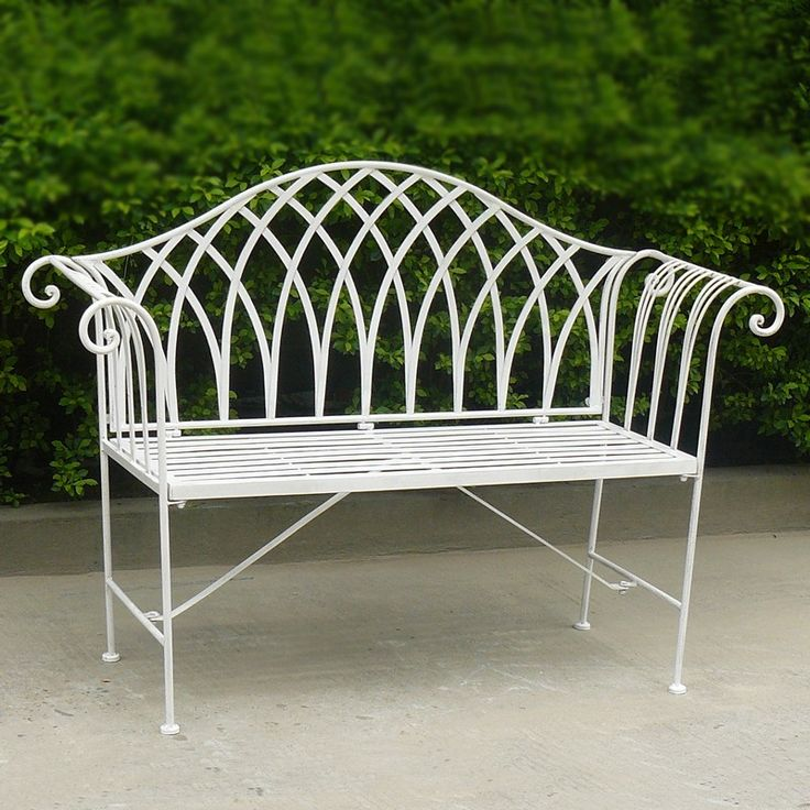 Wrought Iron Wholesale Lavinia Bench Furniture