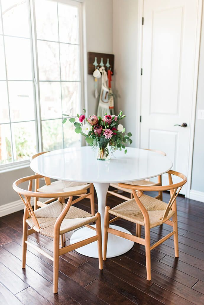Small Dining Room Table. Touring Alexis Andra s Textural  Plant Filled Home Tulip Dining TableIkea White TableSmall Living Room Best 25 Ikea white dining table ideas on Pinterest room