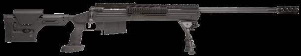 Savage Arms - 110 BA Long Action Rifle. 338 Lapua Mag. Dang.