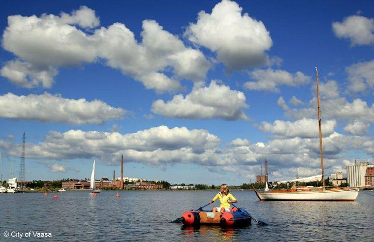 Sunny summer day @ Vaasa www.visitvaasa.fi Photo: Ann-Britt Pada