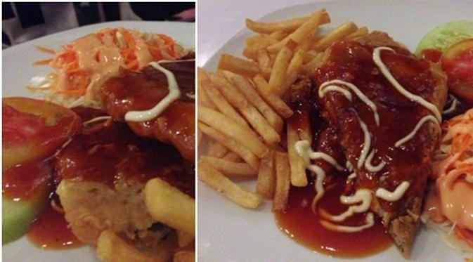 Sensasi rasa gurih martabak telor, empuknya steak daging, yang berpadu dengan saus yang melumer ketika masuk ke dalam mulut