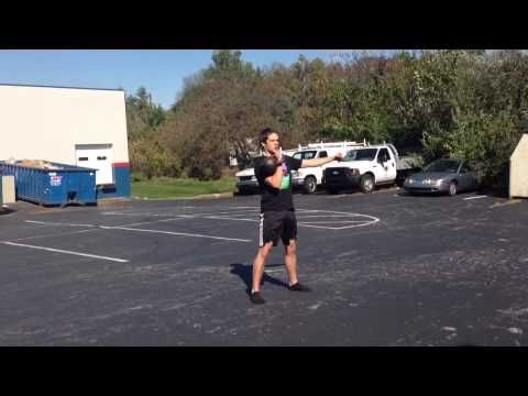 Get in the gym and get out with this quick kettlebell finisher. Get ideas fore more workouts at www.youtube.com/user/supmuhhumbruh and at www.chroniclesofstrength.com