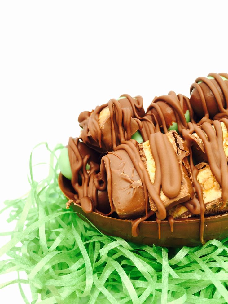 Snickers and Mint easter eggs